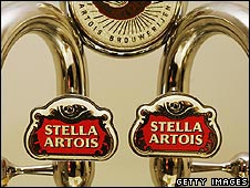 Stella beer dispensers