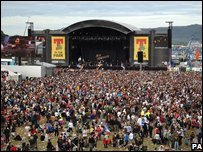 Fans at T in the Park