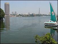 Río Nilo, Cairo.