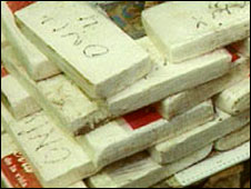 Cocaine (File pic)