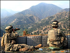 US troops in Kunar, file pic from 2006