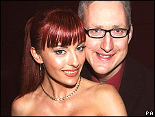 Lembit Opik and fianc�e Gabriela Irimia