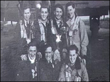 Members of the Lancaster bomber crew