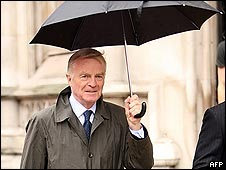 Max Mosley and umbrella
