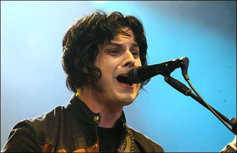 Jack White of The Raconteurs