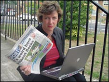 Reporter Polly Billington explains how to write an online news report