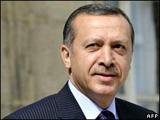 Turkish Prime minister Recep Tayyip Erdogan, 13 July 2008