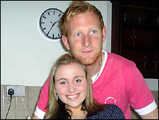 Barrie Lester and his partner Natalie