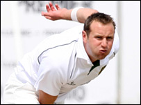 Ireland bowler Peter Connell