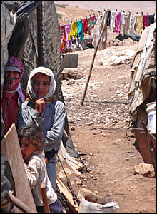 Villagers in al-Hadidiya, Jordan Valley
