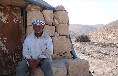 Herder in the Hebron hills