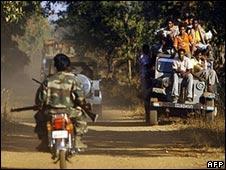Members of Salwa Judum militia in Chhattisgarh
