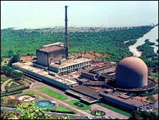 India's Bhabha Atomic Research Centre, located 30km from Mumbai (Bombay)