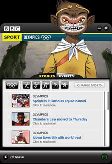Screengrab of Desktop Monkey