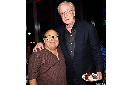 Danny Devito and Michael Caine