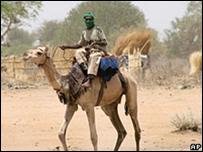 أحد عناصر الجنجويد في دارفور