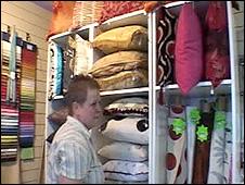 A market trader in Newtown