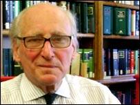 Senior Law Lord Thomas Bingham