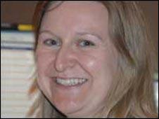 BBC Radio studio producer, Rebecca Hughes