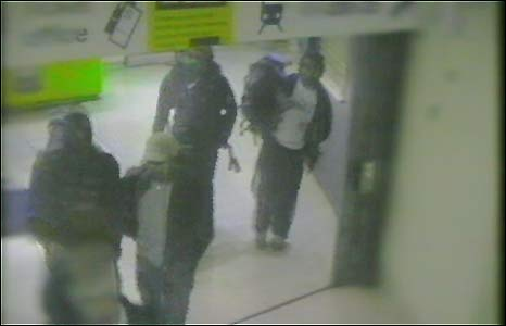 The last image of the bombers together, captured on CCTV at Kings Cross
