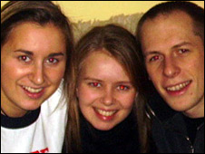 Elena Putnam, Rachel Putnam and Mark Gardiner