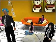 Second Life grab