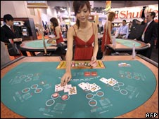 Card dealer in Macau