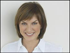 News presenter Fiona Bruce