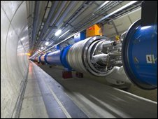 Two LHC Magnets