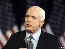 John McCain, 15 July 2008