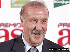 New Spanish coach Vicente del Bosque