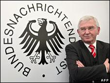 Ernst Uhrlau in a 2006 file picture