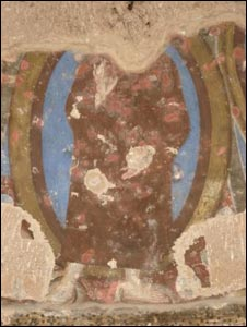 Paintings defaced by the Taleban