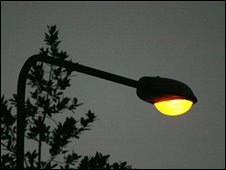 Street light (library picture)