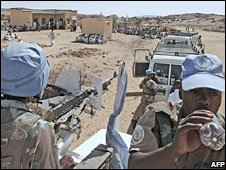 Peacekeepers in Sudan