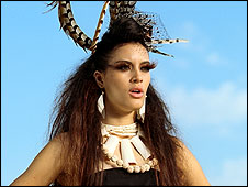 Tribal queen in Littlewoods Direct advert