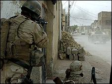 US forces in Diwaniya - US army handout