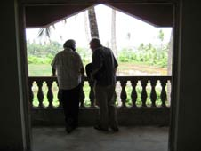 John Waite, presenter of Face the Facts, interviewing in Goa