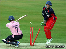 Middlesex and Lancashire in Twenty20 action this season