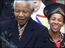 Nelson Mandela and Cheryl Carolus