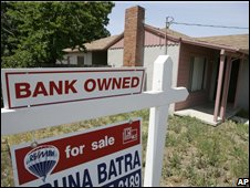 Home repossessed in US