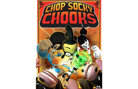 Chop Socky Chooks poster