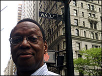 Alvin Hall on Wall Street