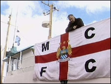 City fan aboard the trawler