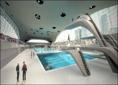 Aquatic centre Stratford swimming pool opening times