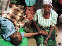 Зараженные ВИЧ-инфекцией в Африке