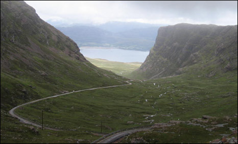 Bealach na Ba - the road to Applecross (Pic: Iain MacDonald)