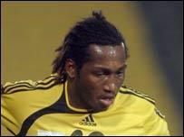 Cameroon's Eric Djemba-Djemba