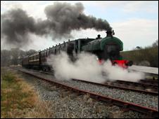 County Down steam train