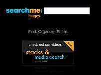 Searchme web page